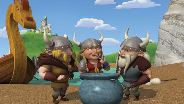 Troll-syltetøyet må beskyttes mot vikingene!
