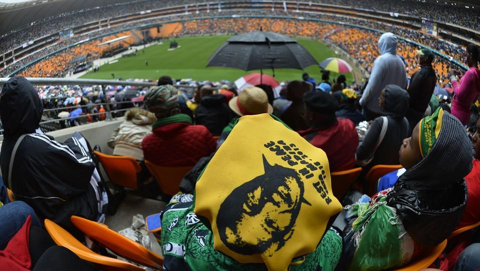 Minnestund for Nelson Mandela