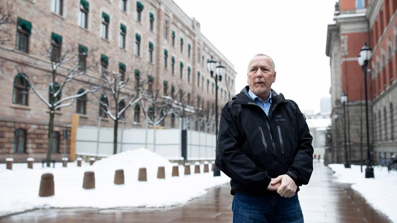 Espen Naumann er hovedverneombud i Departementenes sikkerhets- og serviceorganisasjon (DSS).
