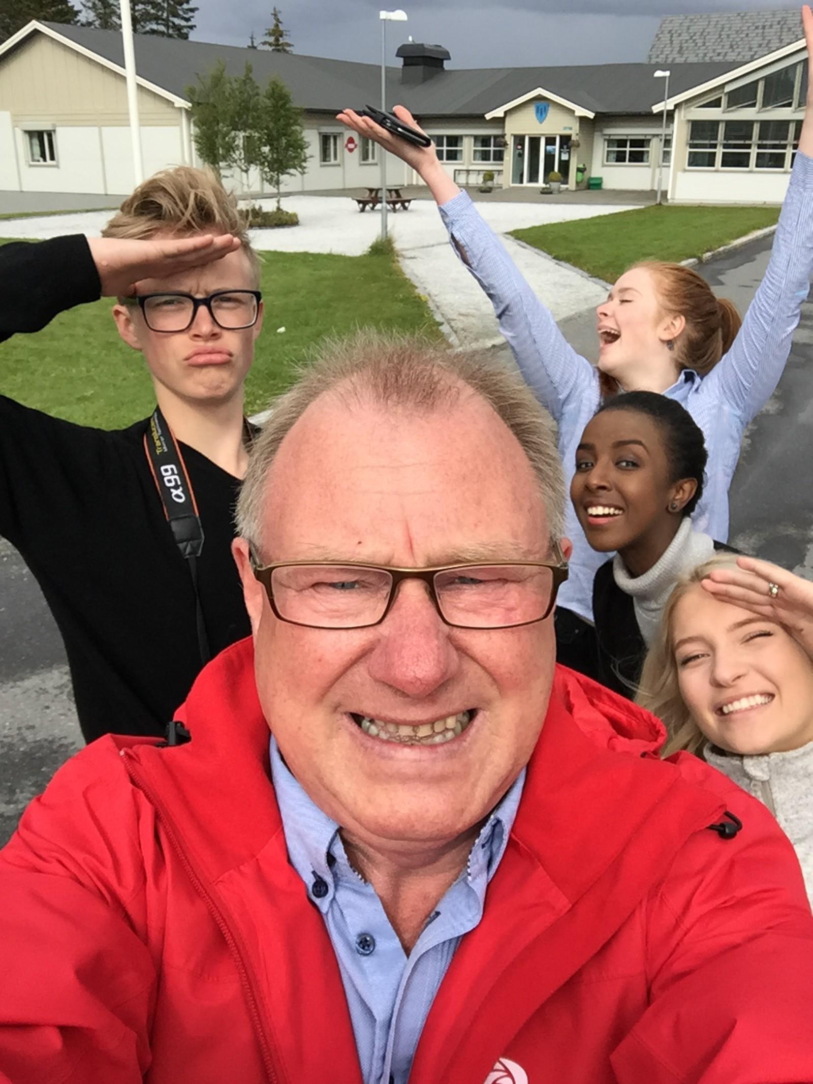 Ordfører Arnt Frode Jensen(Ap) i Herøy kommune.