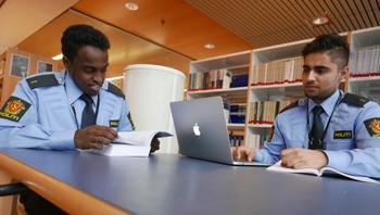Politistudenter med innvandrerbakgrunn