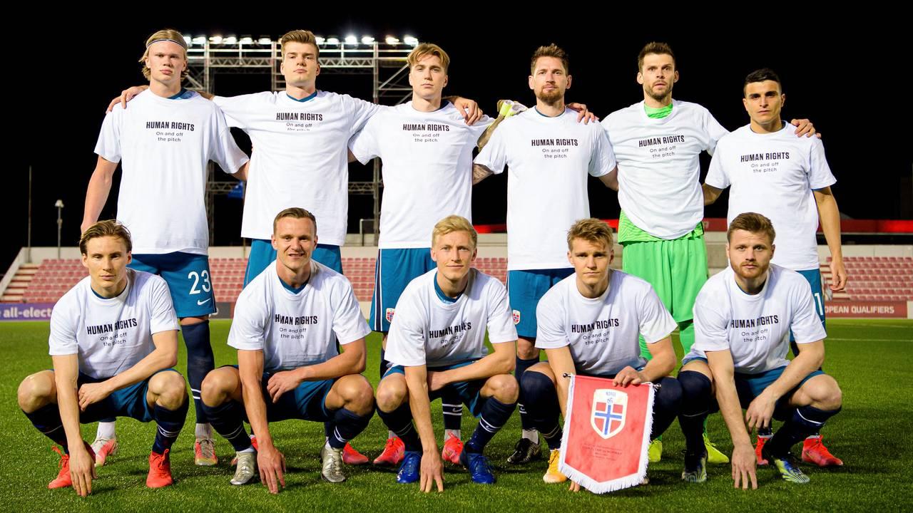 Landskampen mellom Norge og Gibraltar (0-3)