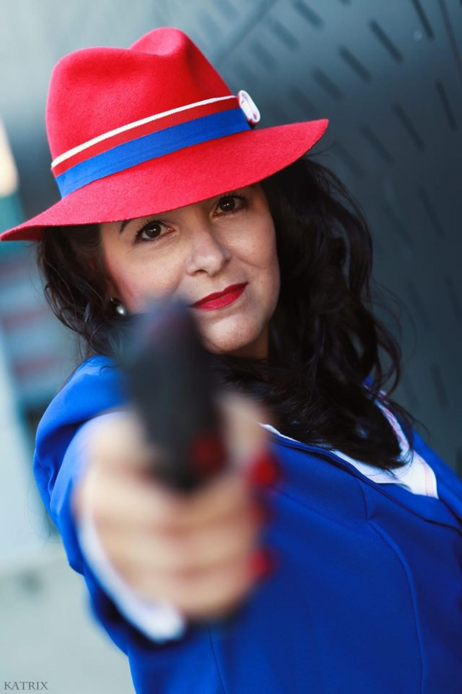 Peggy Carter fra serien Agent Carter.