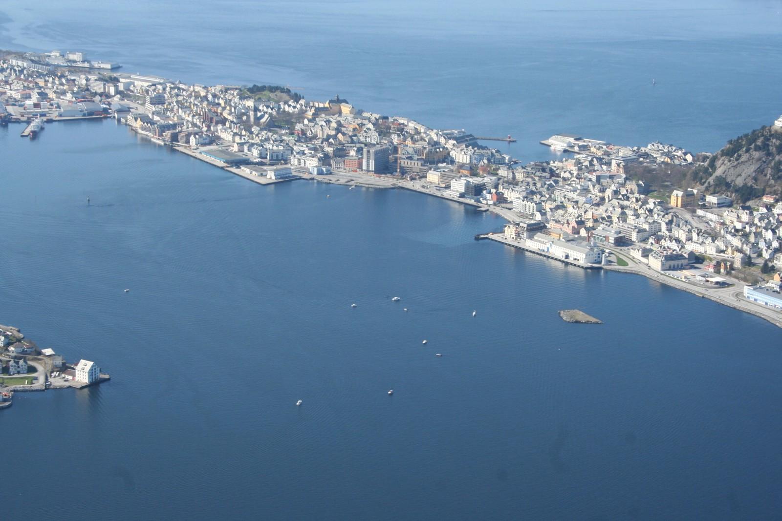Ålesund er 3. mest søkte feriedestinasjon for turister fra Europa, Midtøsten, Afrika og Nord-Amerika, ifølge en søkerstatistikk fra Hotels.com.
