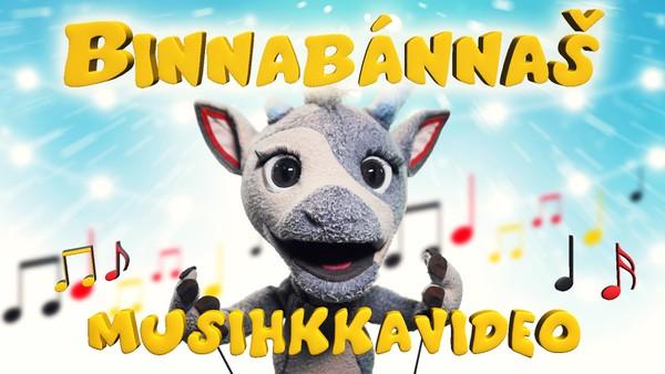 Binnabánnaš synger kjente barnesanger