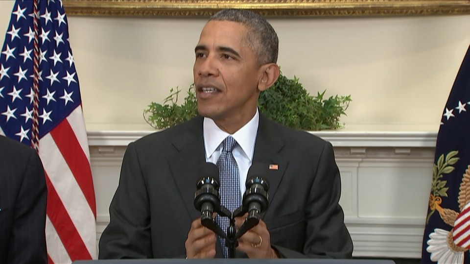 Obama ber kongressen om ett ja