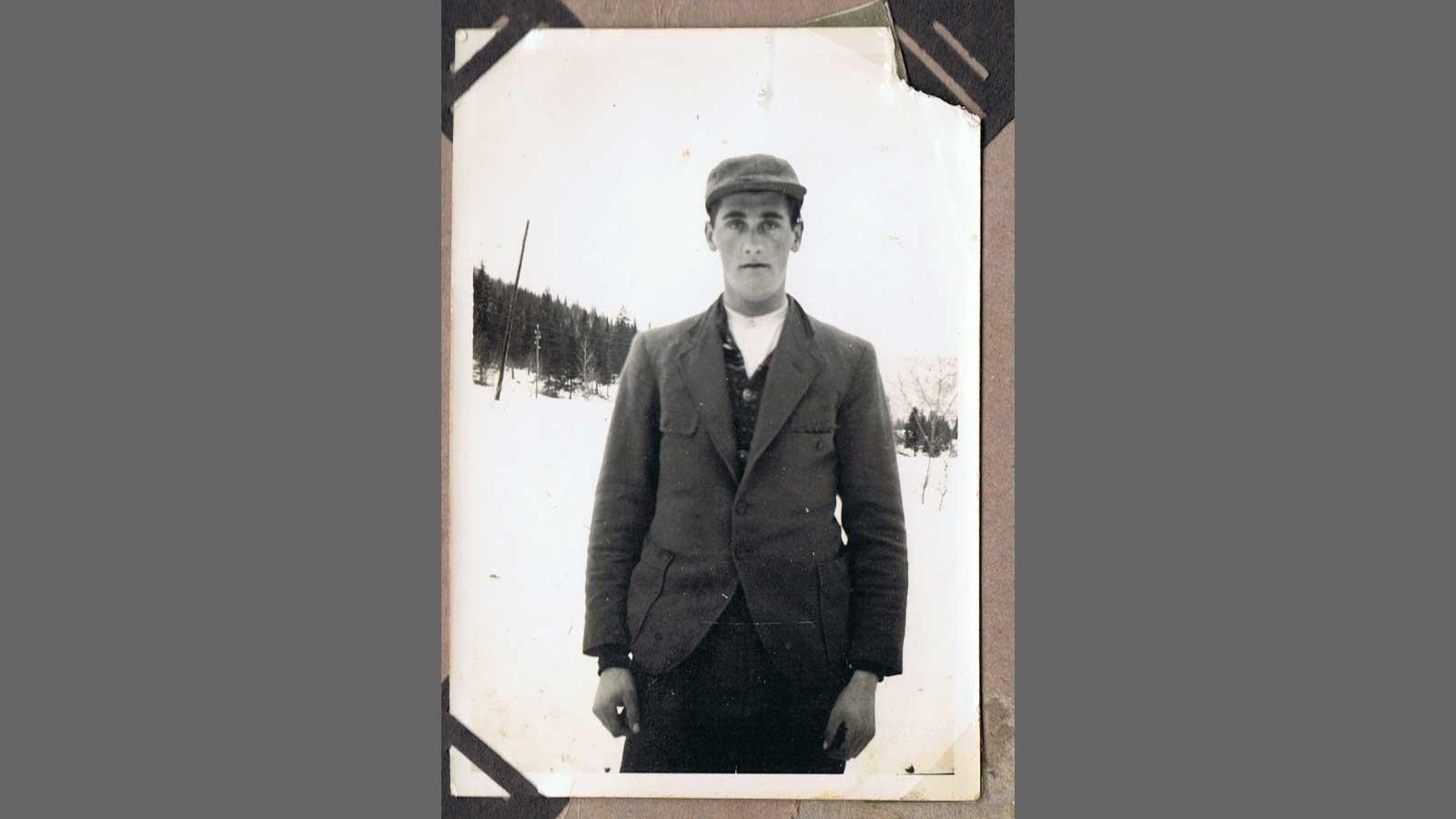 Passfoto av Nils Karstein Aarmo