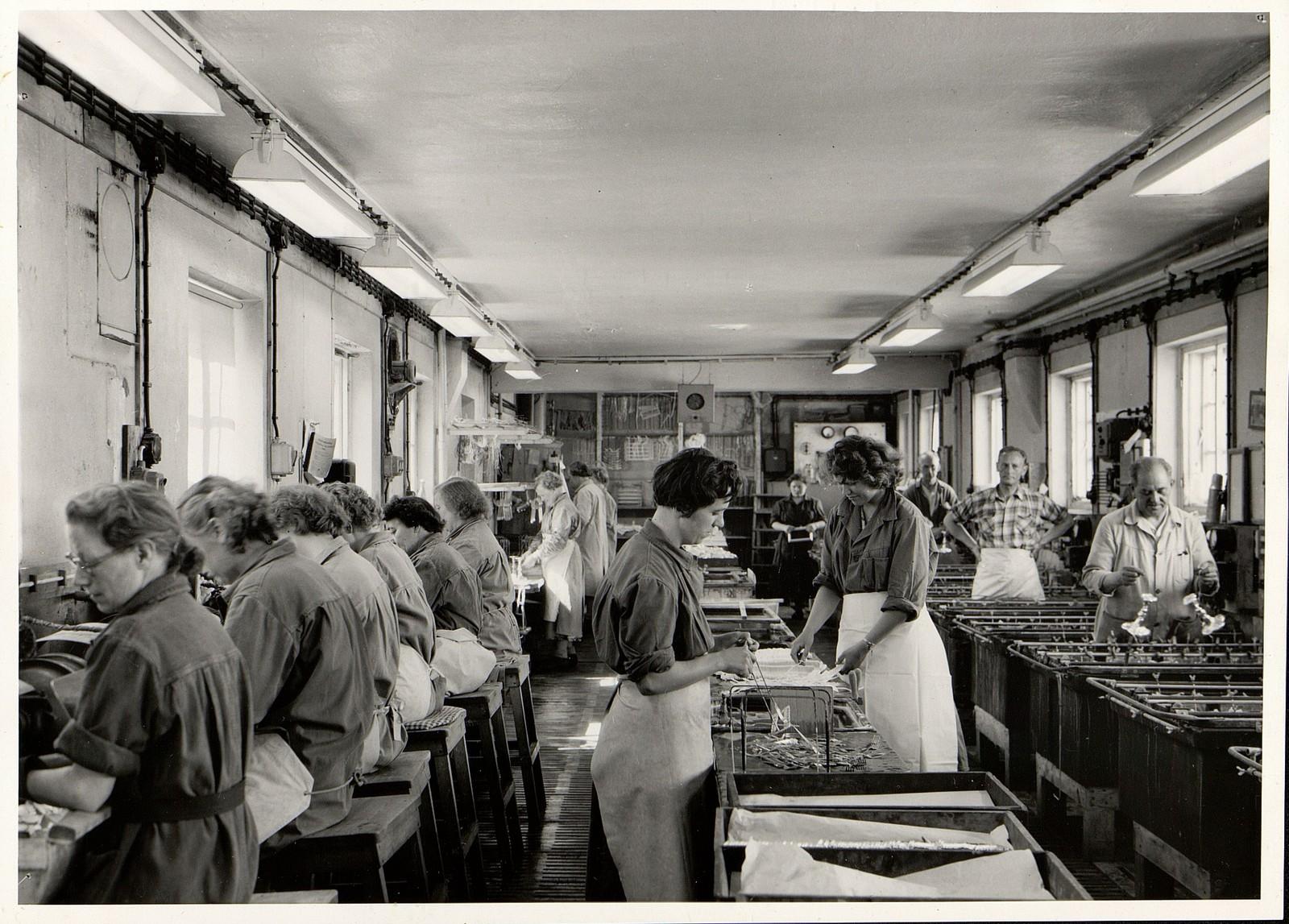 Forsølveriet, ca 1956.