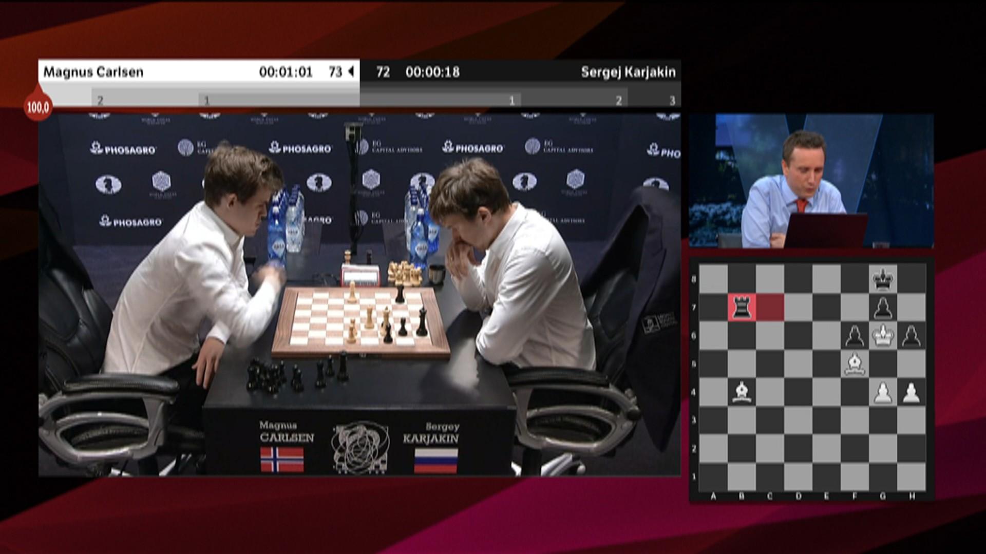 Pila Sto I 100 Men Carlsen Misbrukte Muligheten Nrk Sport Sportsnyheter Resultater Og Sendeplan