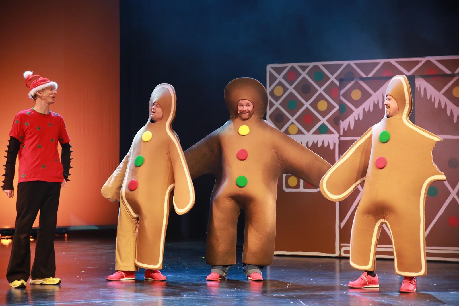 Yo! Her er pepperkake-boybandet.