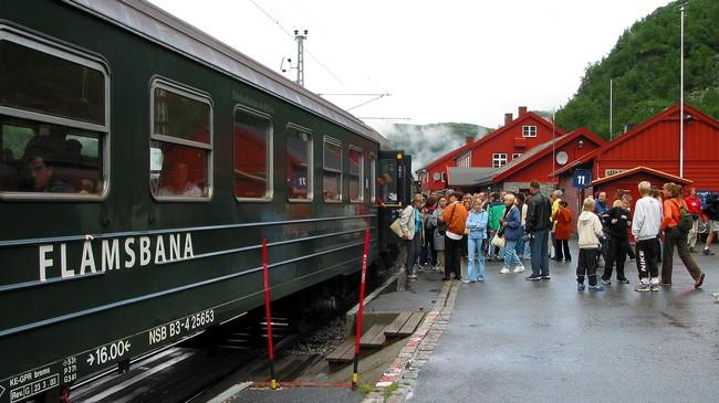 Myrdal stasjon. Foto: NRK.