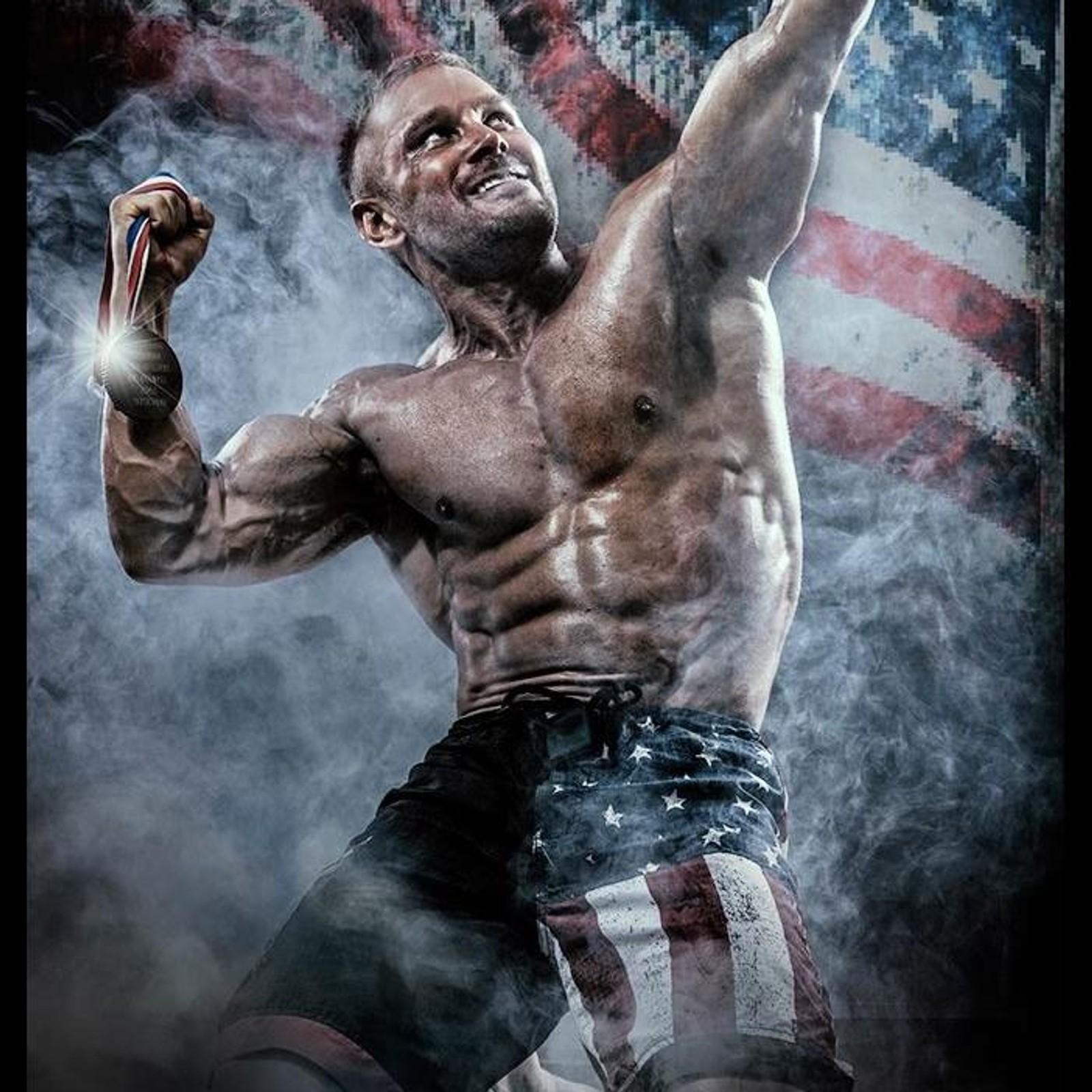 Daniel Stisen amerikansk flagg