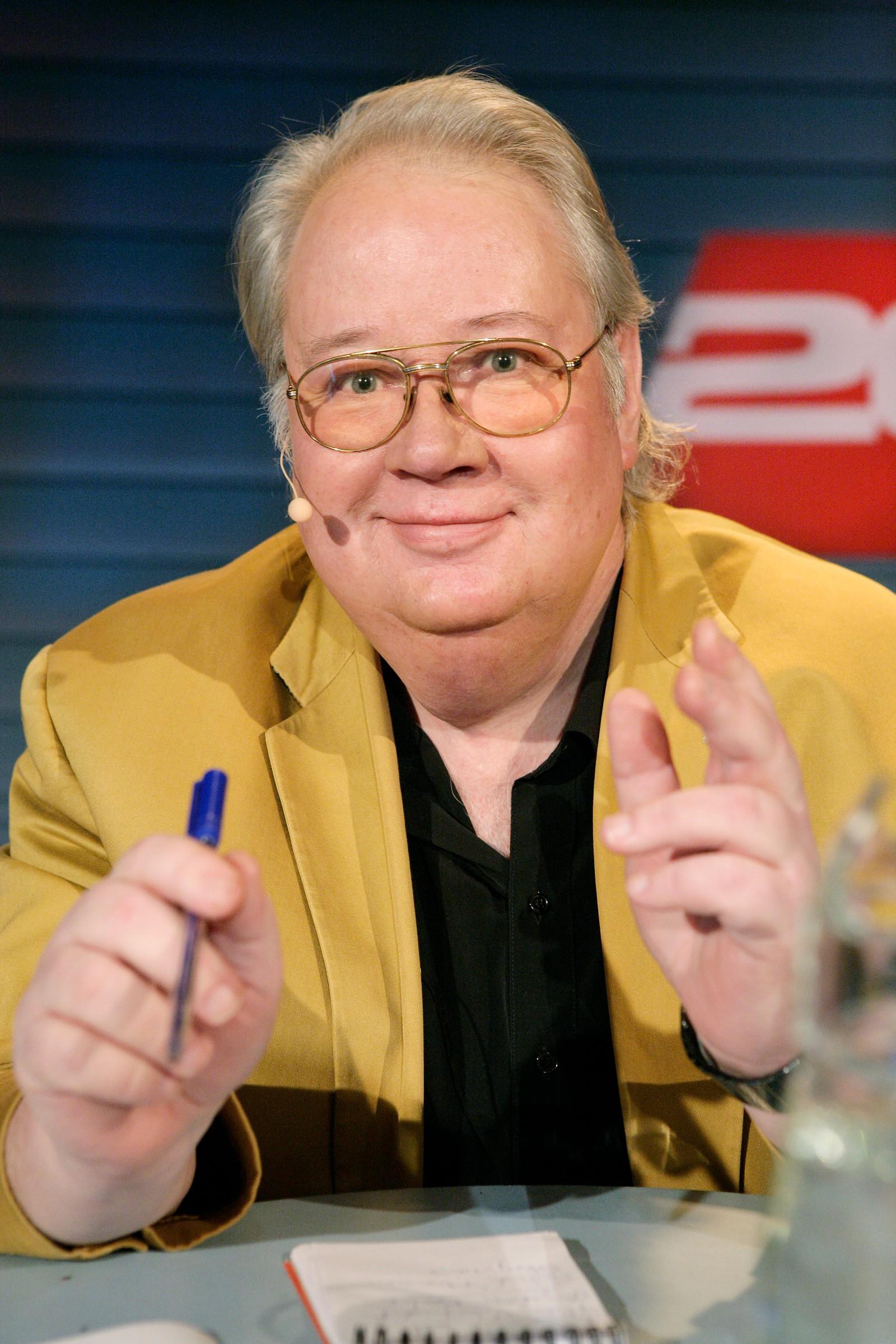 Knut Borge leder 20 spørsmål 2007