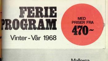 Ferieprogram 1968