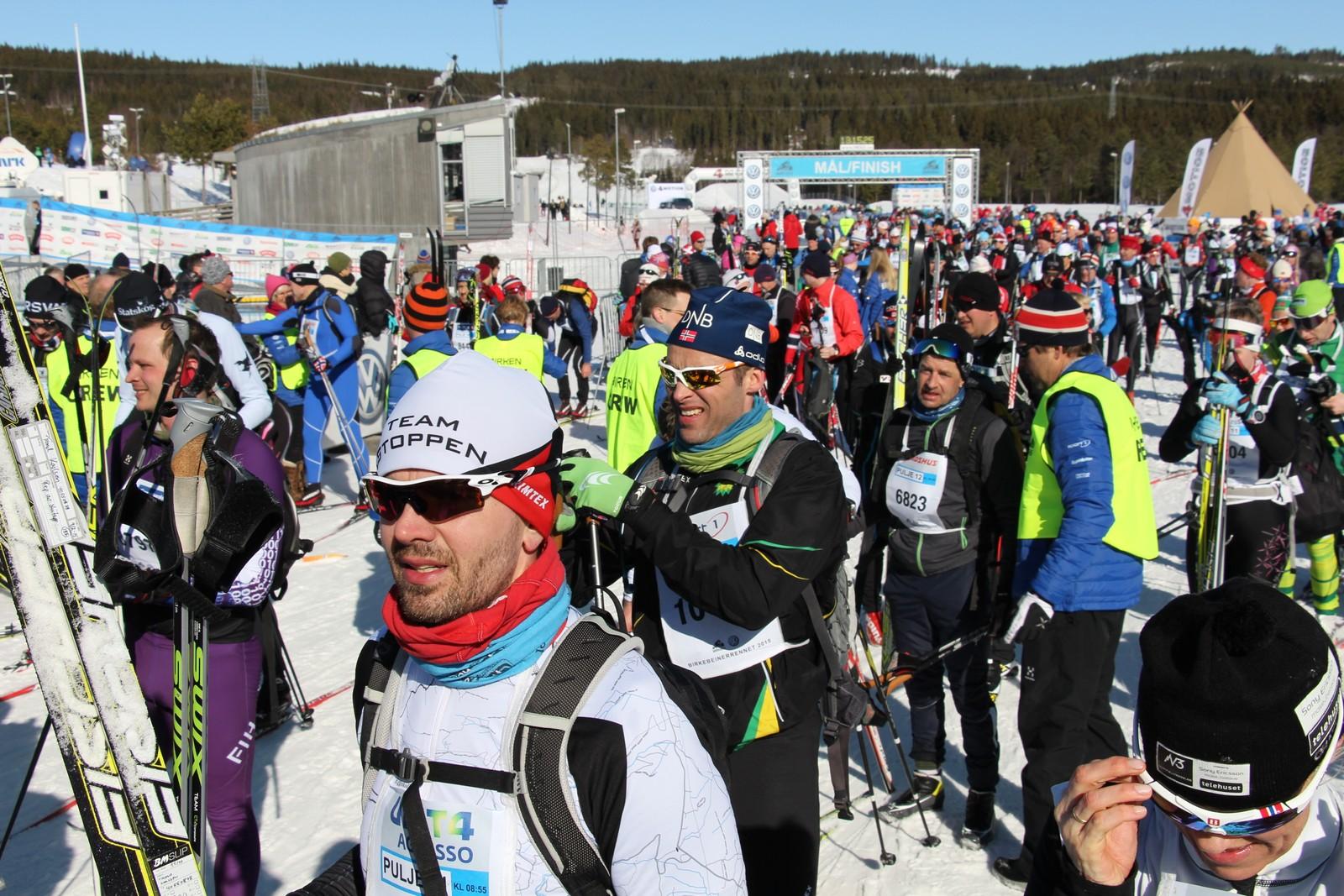 Flere tusen skiløpere har hatt en fin tur fra Rena til Lillehammer.