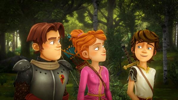 Kanadisk animasjonsserie om Arthur og vennene hans som forøker å vokte det magiske sverdet Eskalibur.