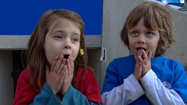 """Ekornvein er en """"Ada bader produksjon"""" - 2006. Det er 5 små filmer om fotball , med Vidar og Line."""