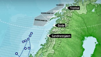 Nordland seks, nordland sju og troms to