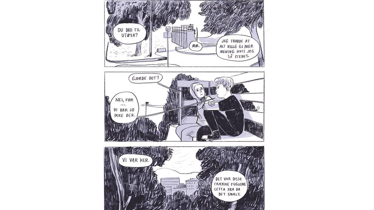 Fra tegneserieromanen