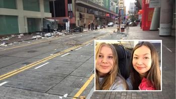 Opptøyer Hongkong