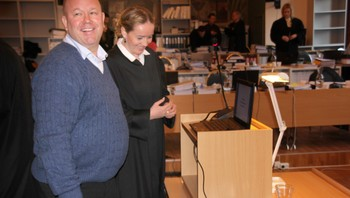 Fred A. Ingebrigtsen og Toril Dale