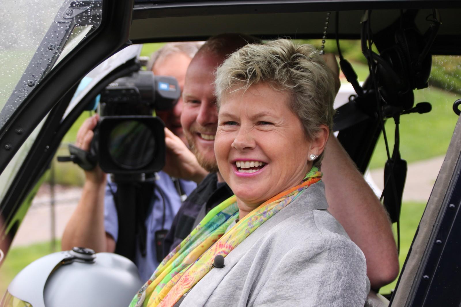Agnes Berntsen har ledet Strand hotell Fevik fra konkursens rand til suksess. Torsdag sluttet hun, og reiste vekk i helikopter.