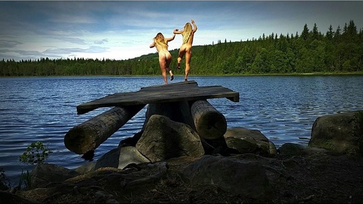 nakenbading jenter bilder troms artemis