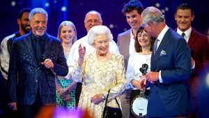 Bursdagsfest for dronning Elizabeth