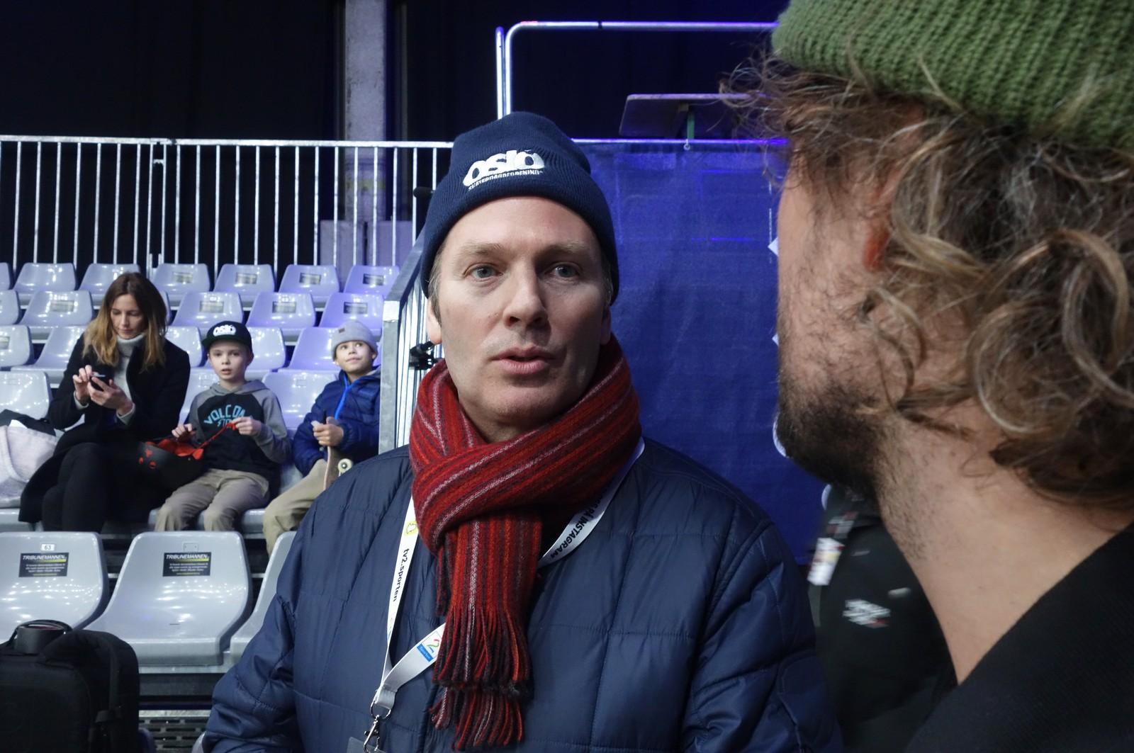 Oslo kommune og Oslo Skateforening samarbeider om å åpne skatehallen for alle så raskt som råd er. Petter Hatlem håper den kan åpne før 1. april.