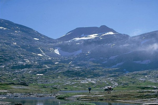 Variert landskap i Tafjordfjella - Foto: Ålesund-Sunnmøre Turistforening
