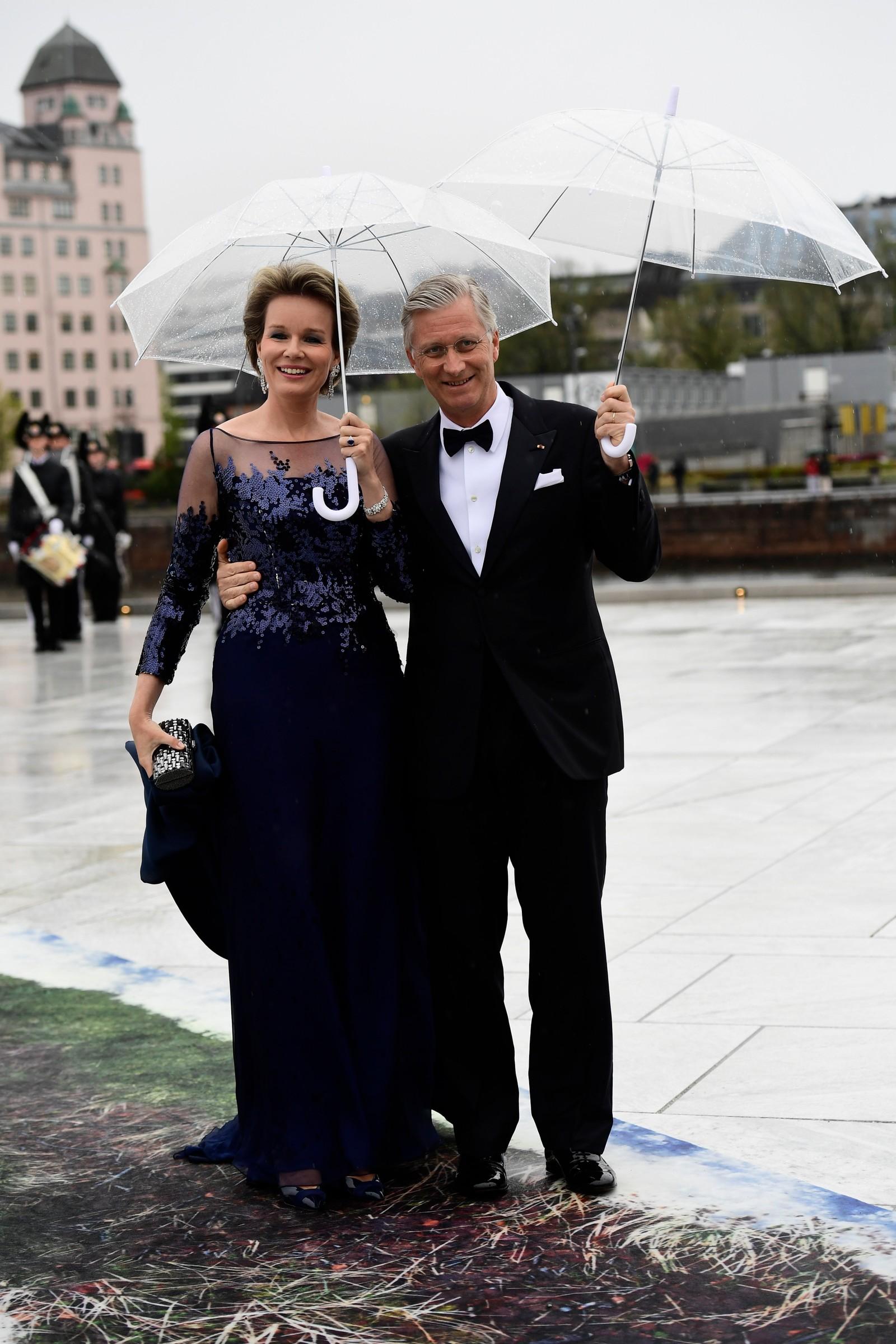 Kong Philippe og Dronning Mathilde av Belgia.