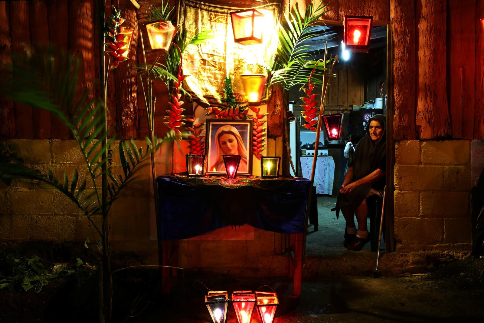 I Apaneca i El Salavador ble Jomfru Marias fødsel feiret denne uka.