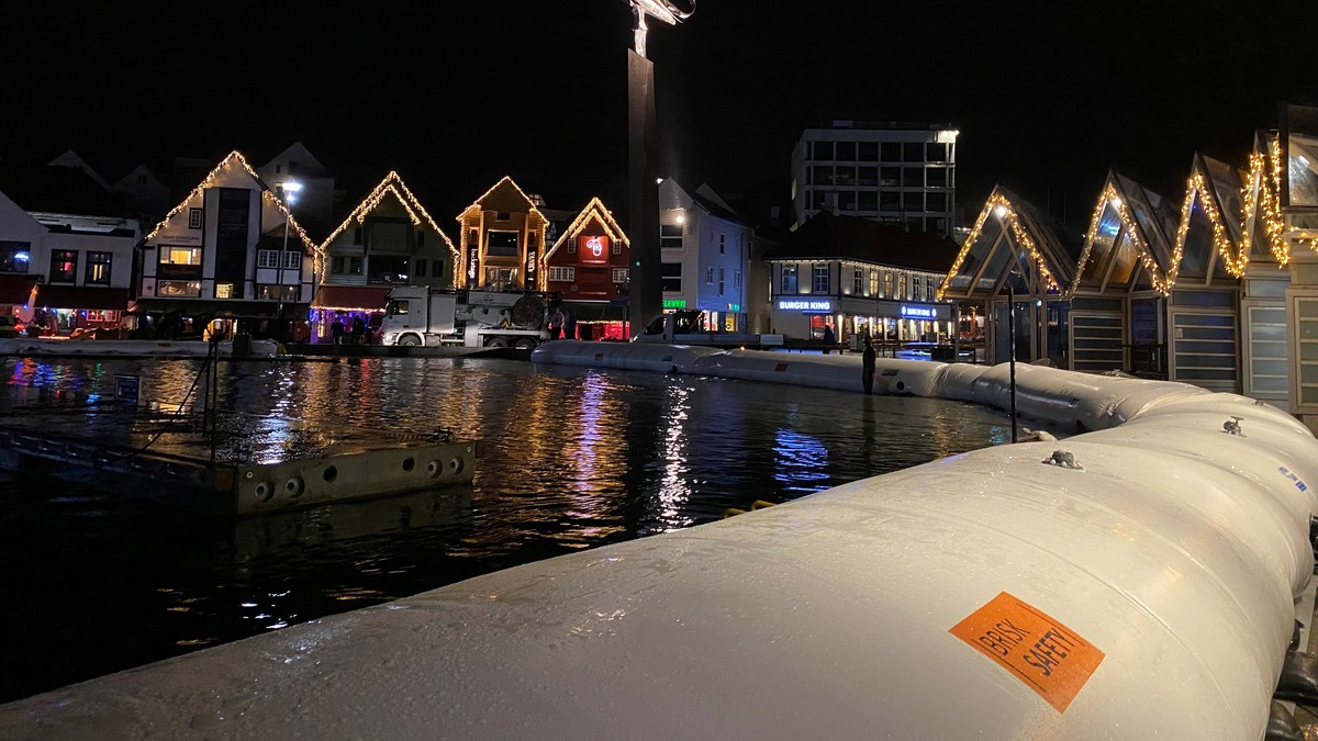 Stavanger sentrum 23.45