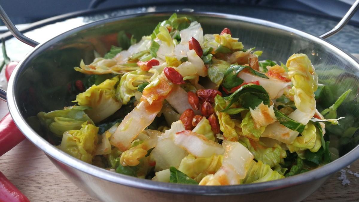 Kimchi Fermentert Spicy K 229 L Nrk Mat Oppskrifter Og