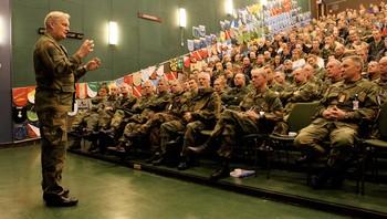 Forsvarssjef General Harald Sunde