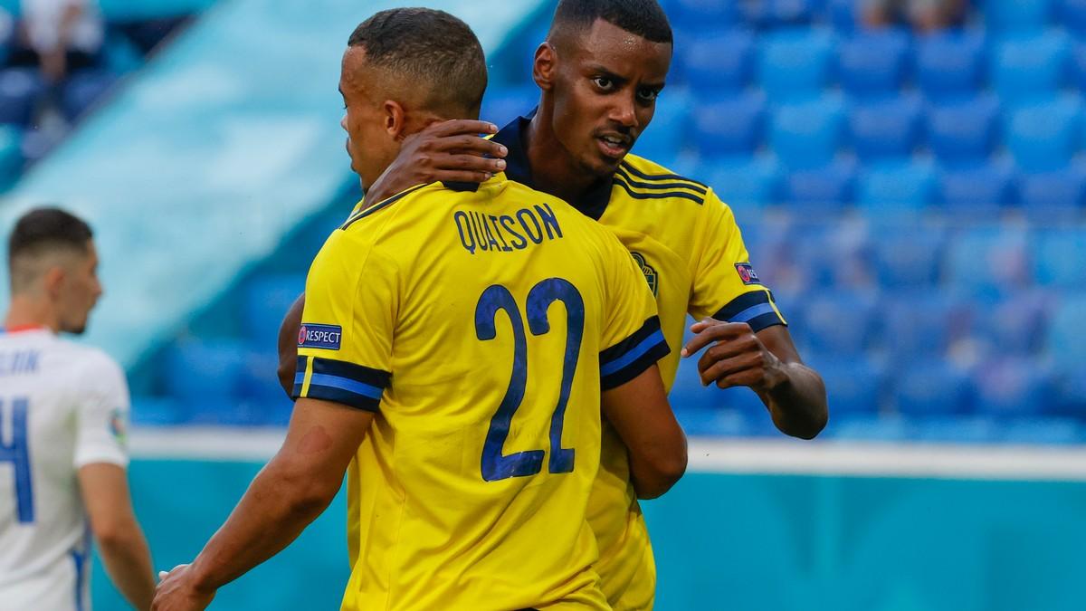 Belgisk  seier  ga  svensk  EM-jubel