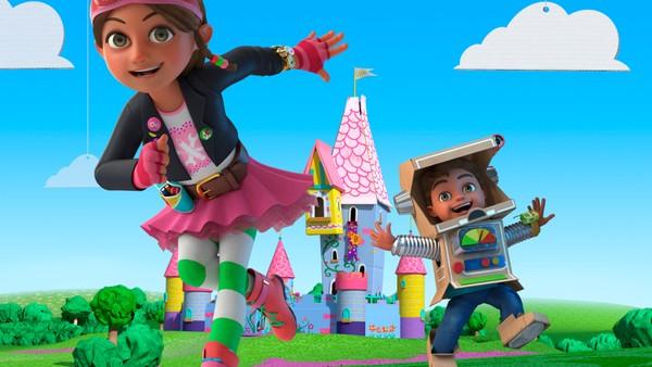 Bli med Bitz og Bob og oppdag vitenskap og ingeniørkunst gjennom lek, bygging og oppfinnelse. Britisk animasjonsserie.