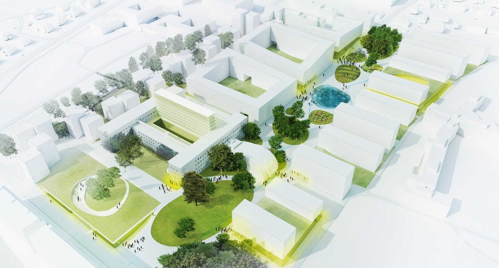 Rodeo, Rebuilding, Opak og Henning Larsen Arkitekter
