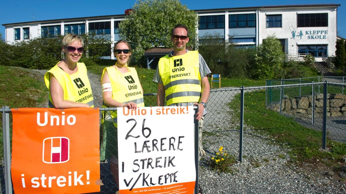 norges lengste streik