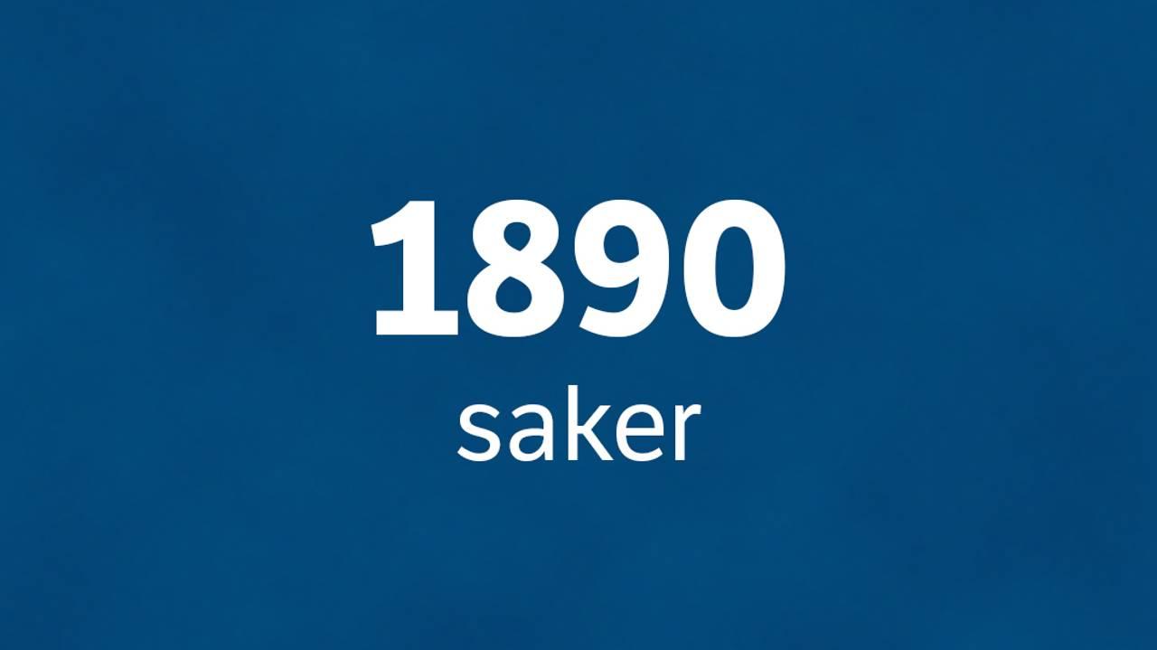 1890 saker