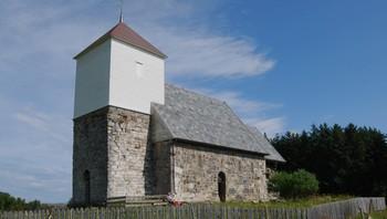 Nærøya kirkeruin