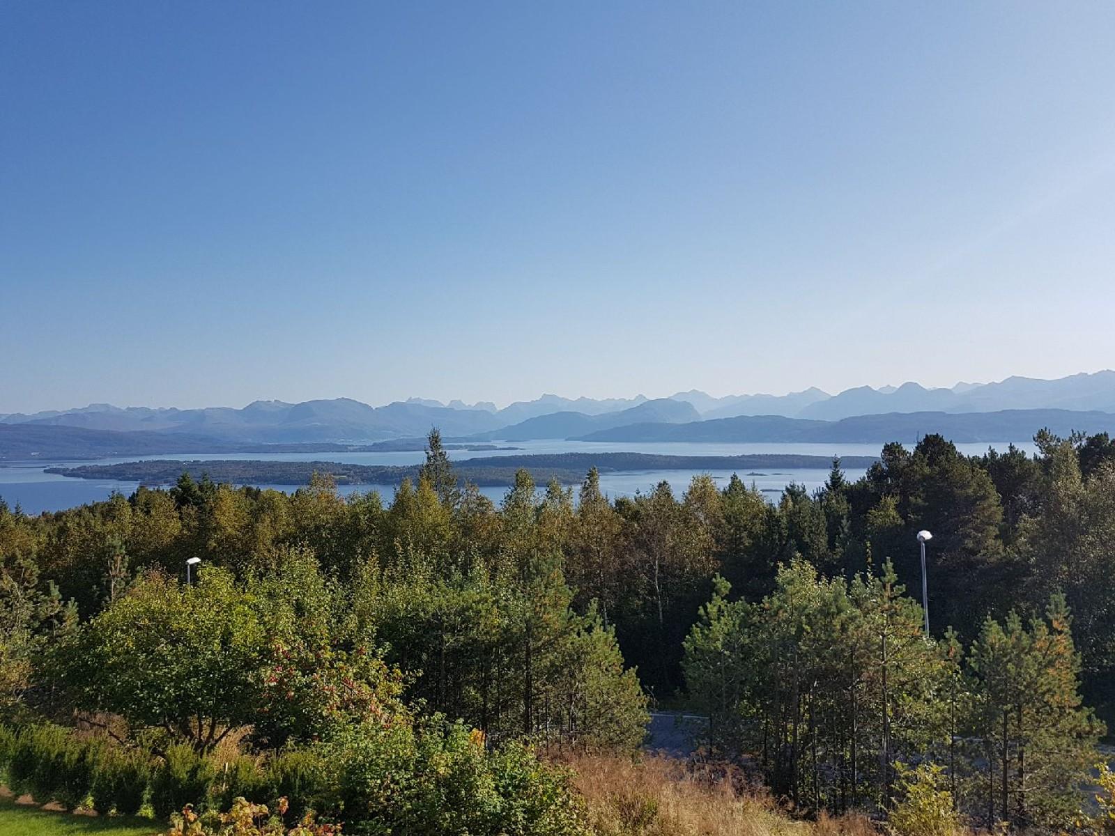 Frå Nordbyen i Molde.
