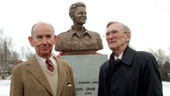 Max Manus og Gunnar Sønsteby