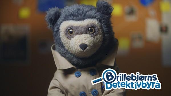 Brillebjørn har startet detektivbyrå og løser store og små mysterier sammen med barna. Når noe forsvinner, flytter på seg eller dukker opp trår Brillebjørns Detektivbyrå til.