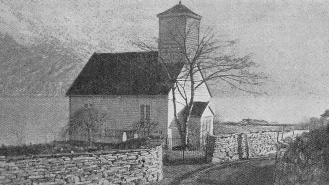 Gamle Nes kyrkje.
