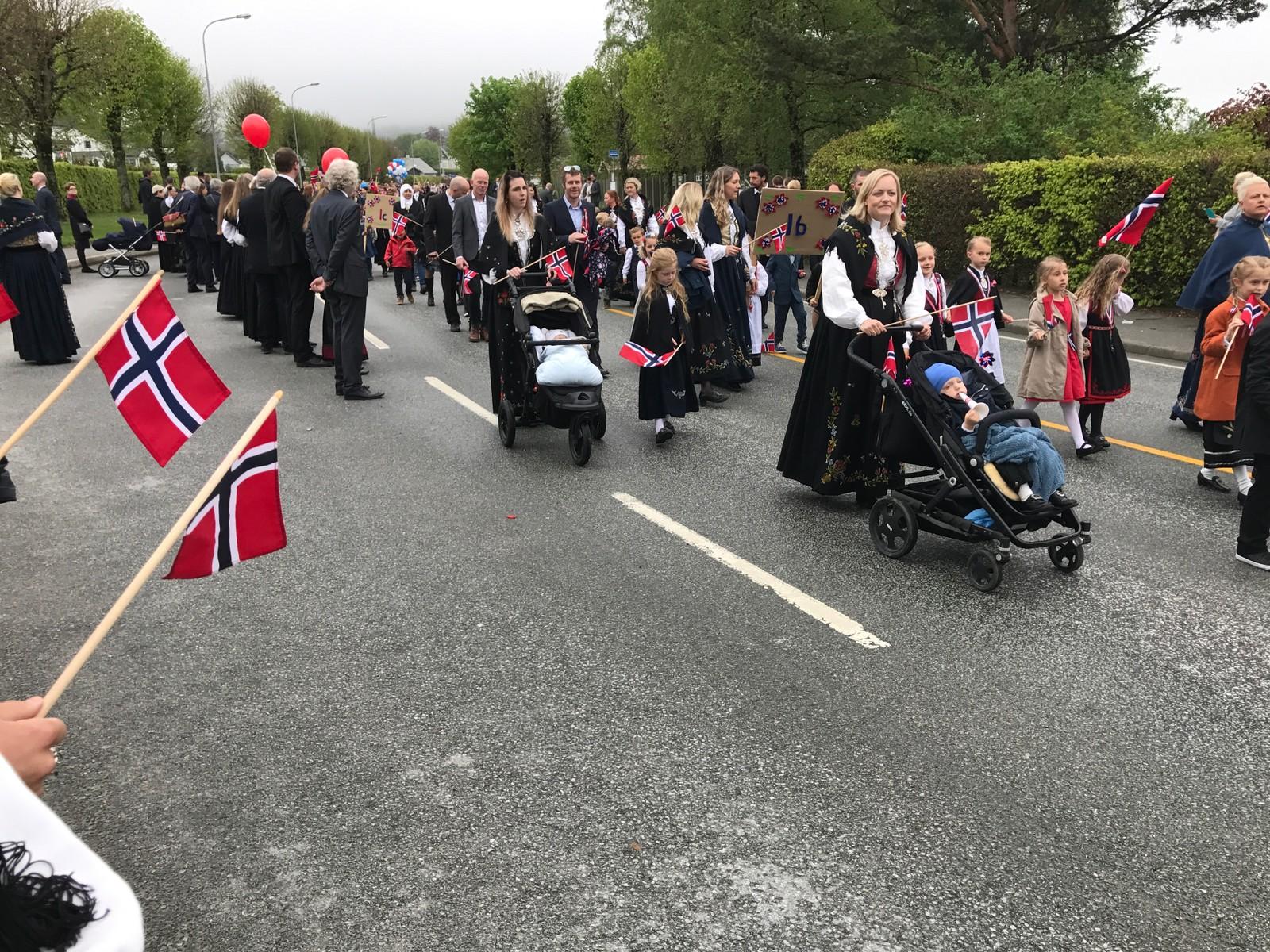 17. mai-feiring på Jørpeland.