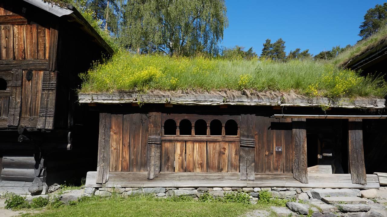Setesdalsbygg på Norsk folkemuseum