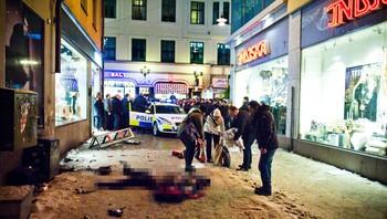 Selvmordsaksjon i Stockholm