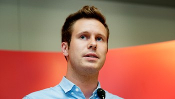 Eskil Pedersen, leder i AUF.
