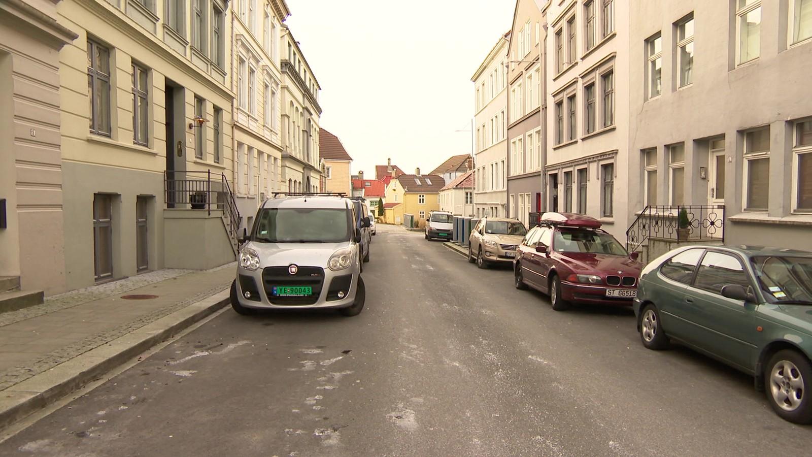 Sentrumsgate i Bergen